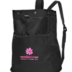New Ramblin' Rose Drawstring Sports Bag! Get Yours Now in the Ramblin' Rose Store!