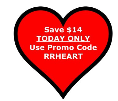 Love is the Air! Save $14! TODAY ONLY!