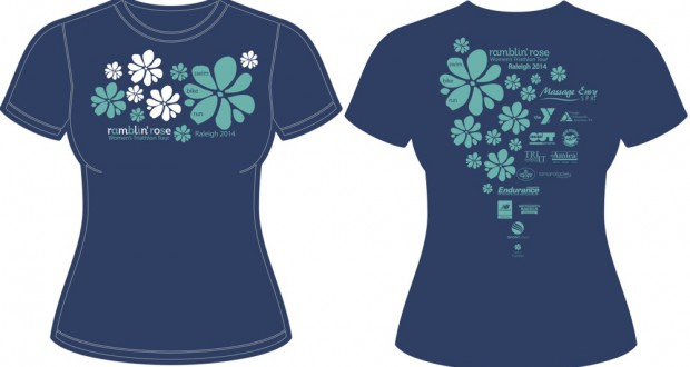 2014 Ramblin' Rose Race Shirts Are Amazing!