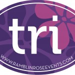 NEW for 2014! Ramblin' Rose TRI Stickers