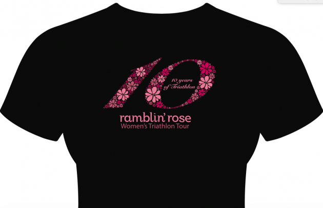 Ramblin' Rose Race Shirt 2015